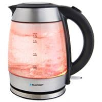 Blaupunkt Colour Changing Kettle 1.7L - Stainless Steel
